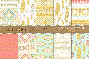 Digital Paper - Navajo III