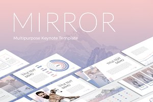 Mirror Modern Keynote Template