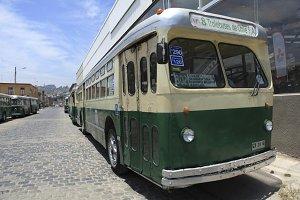 Old Trolleybus in Valparaiso