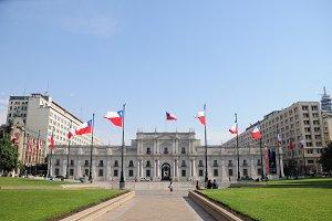 La Moneda Palace, Chile