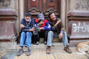 Homeless in Valparaiso