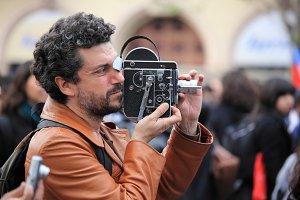 Old Film Camera Bolex