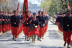 old battalion. Chile