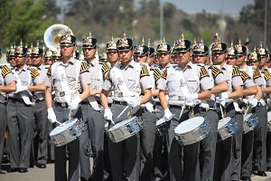 Military School Cadets. Chile