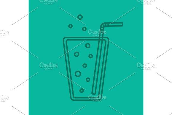 Lemonade Color Linear Icon