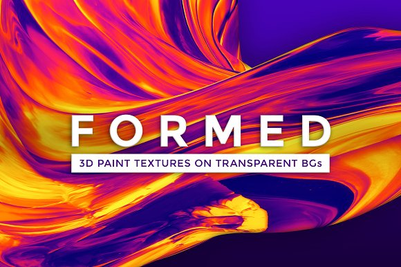 Formed: Abstract 3D Textures/Brushes