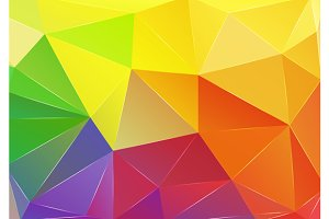 Set triangle background.