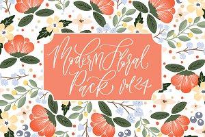 Modern Floral Pack Vol. 24
