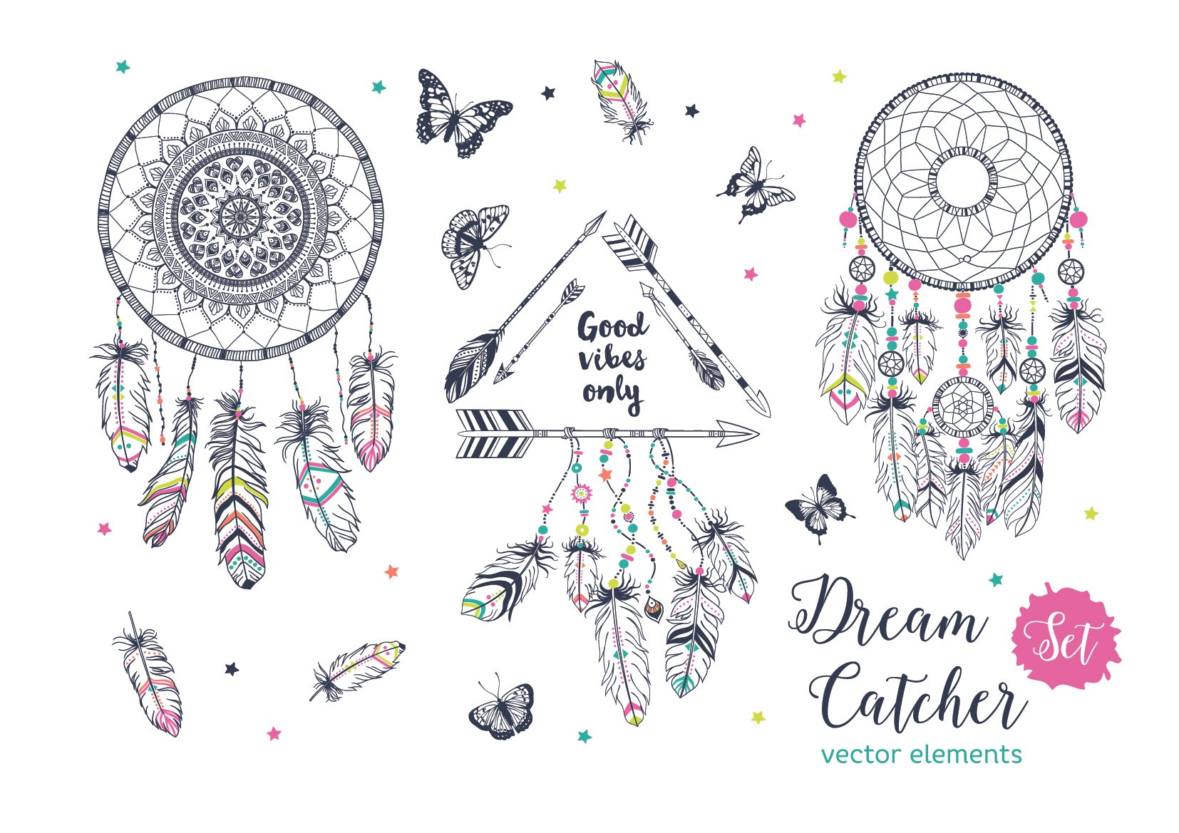 dreamcatcher photos graphics fonts themes templates creative