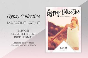 Gypsy Collective Magazine Layout