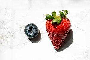 Strawberry & Blueberry Shadows