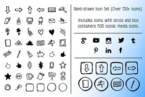 Hand-drawn Icon Set