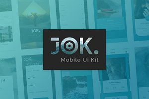 JOK Mobile App UI KIT
