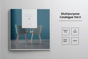 Square Catalogue Template Vol. II