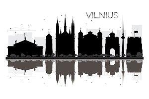 Vilnius City skyline