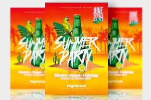 Summer Party - Psd Templates