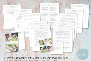 NG018 Photography Contracts & Forms