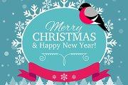 5 Christmas Cards Backgrounds | V1