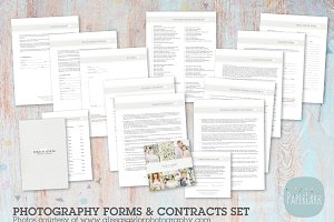 NG012 Photography Contracts & Forms