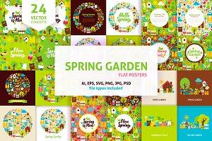 Spring Garden Concepts