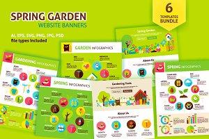 Spring Garden Infographics