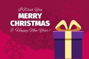 5 Christmas Cards Backgrounds | V2