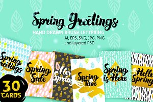 Spring Greeting Cards