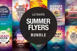 Ultimate Summer Flyer Bundle