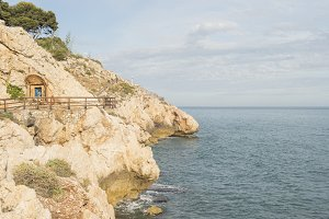 Details of the coast of Malaga