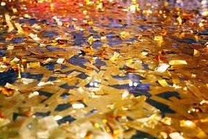 confetti With Sparkling Glitter