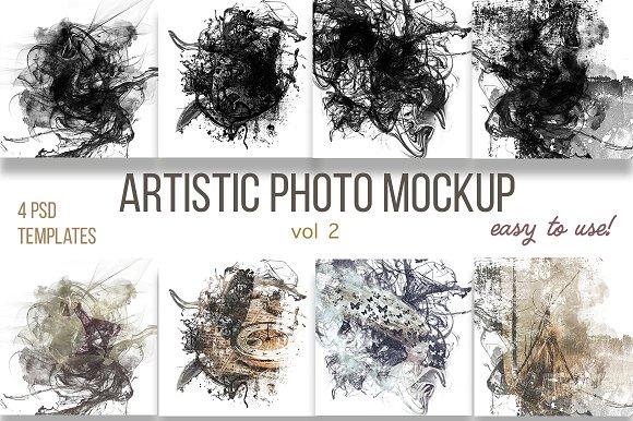 Artistic Photo Mockup Vol 2