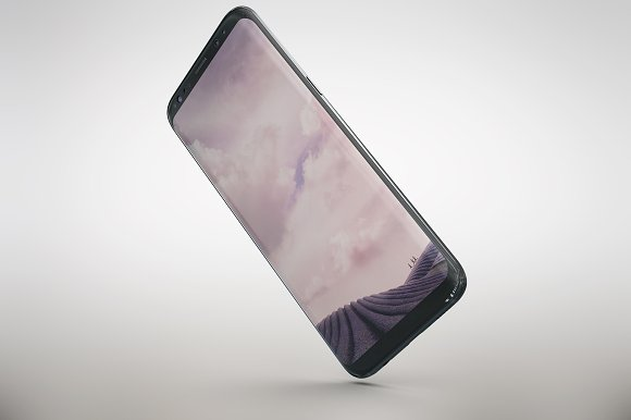 Samsung Galaxy S8 App Skin MockUp