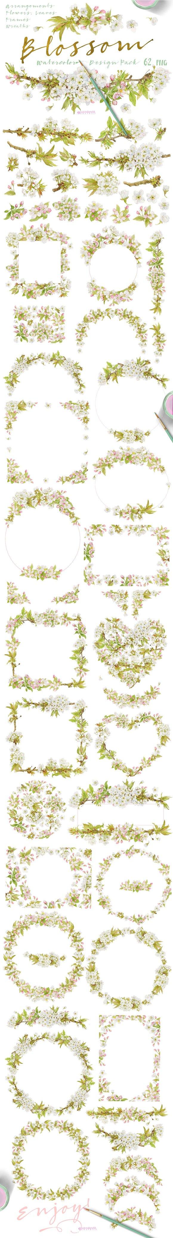 Blossom Design Pack
