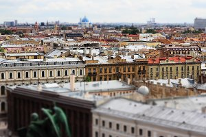 Saint-Petersburg from the height