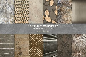 Earthly Whispers Rose Gold & Silvers