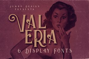 Valeria - Display Font