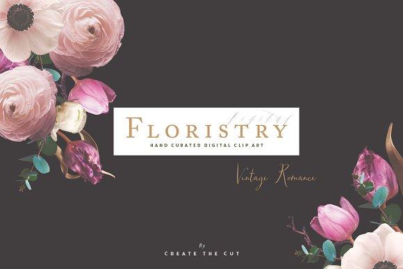 Digital Floristry Vintage Romance
