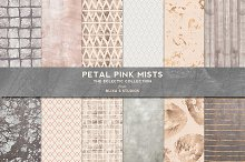 Petal Pink Mists: Rose Gold & Silver