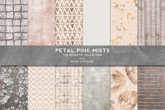 Petal Pink Mists Rose Gold Silver