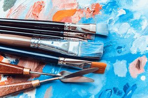 Artistic brushes