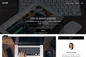 XCode - Free WordPress Blog Template