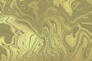 Gold psychedelic background