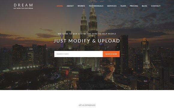 Dream - Multipurpose WordPress Theme