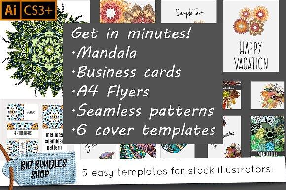 Stock Templates Adobe Illustrator