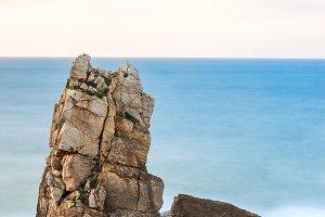 Rocks in the sea(vertical)