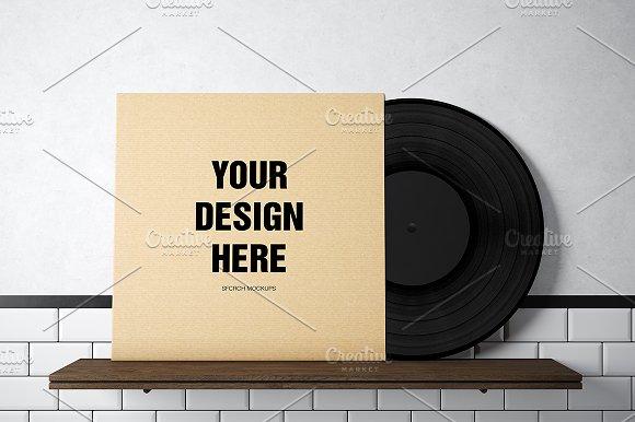 Vinyl Record Mockup 02