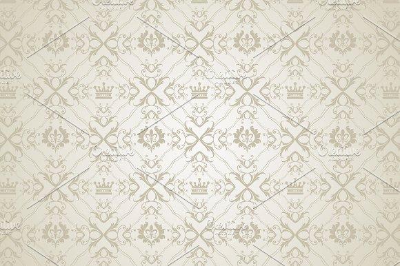 Silver Pattern Wallpaper