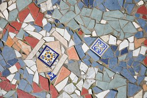 Ceramic Mosaic Ornament