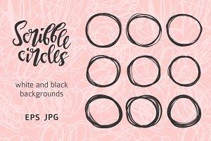 Scribble circle set