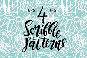 Scribble pattern set